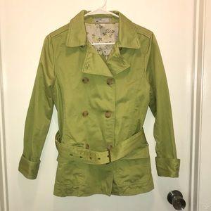 Stylish green pea coat